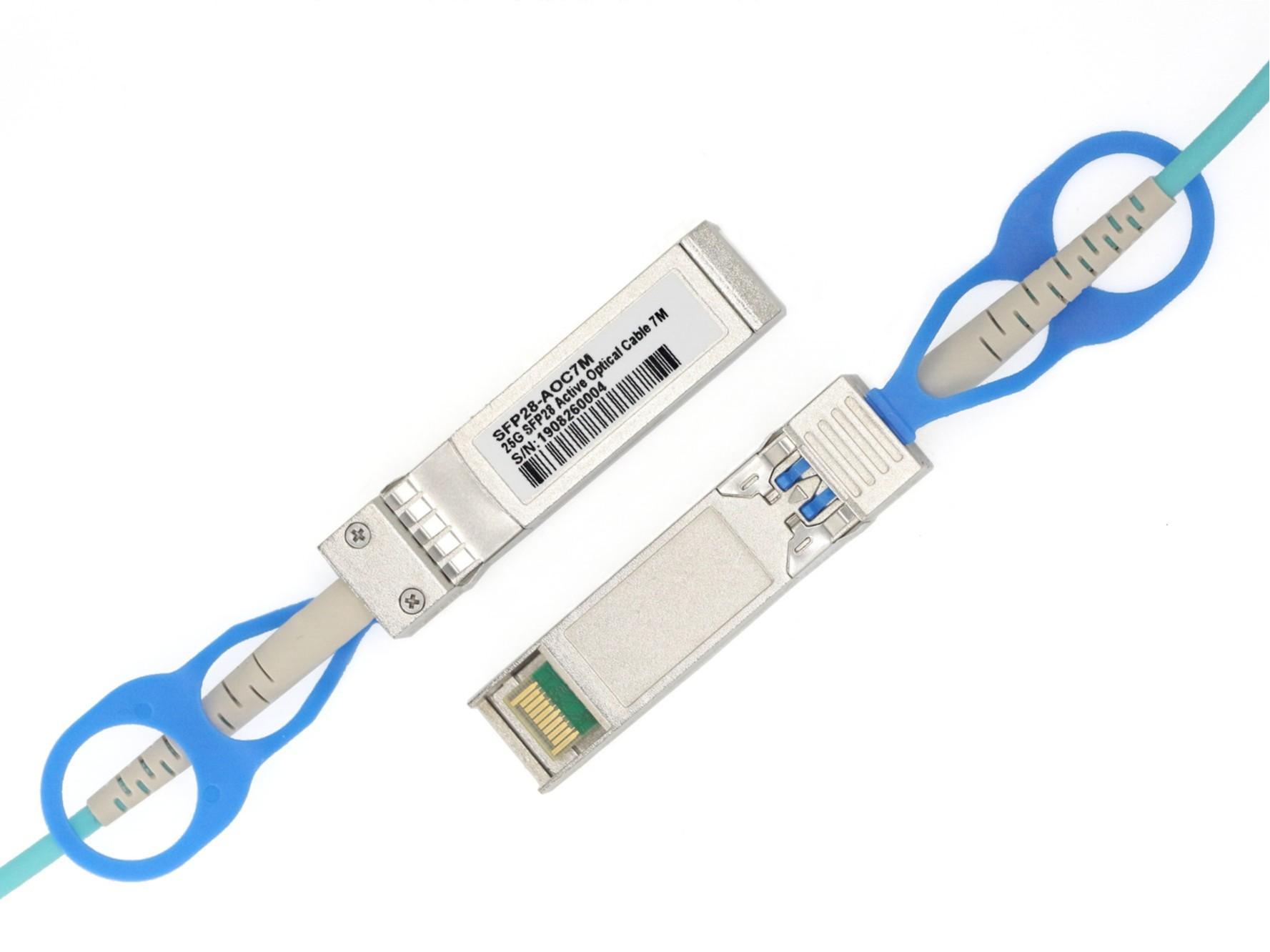 迈络思(Mellanox) MFA2P10-A001 25G SFP28 转 SFP28 AOC有源光缆