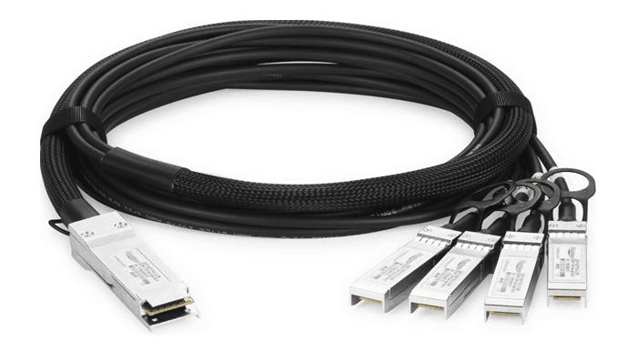 100G QSFP28 转 4SFP28 DAC 高速线缆