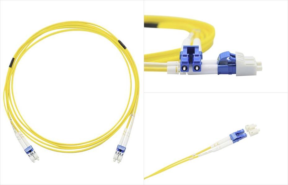 LC-LC光纤跳线展示