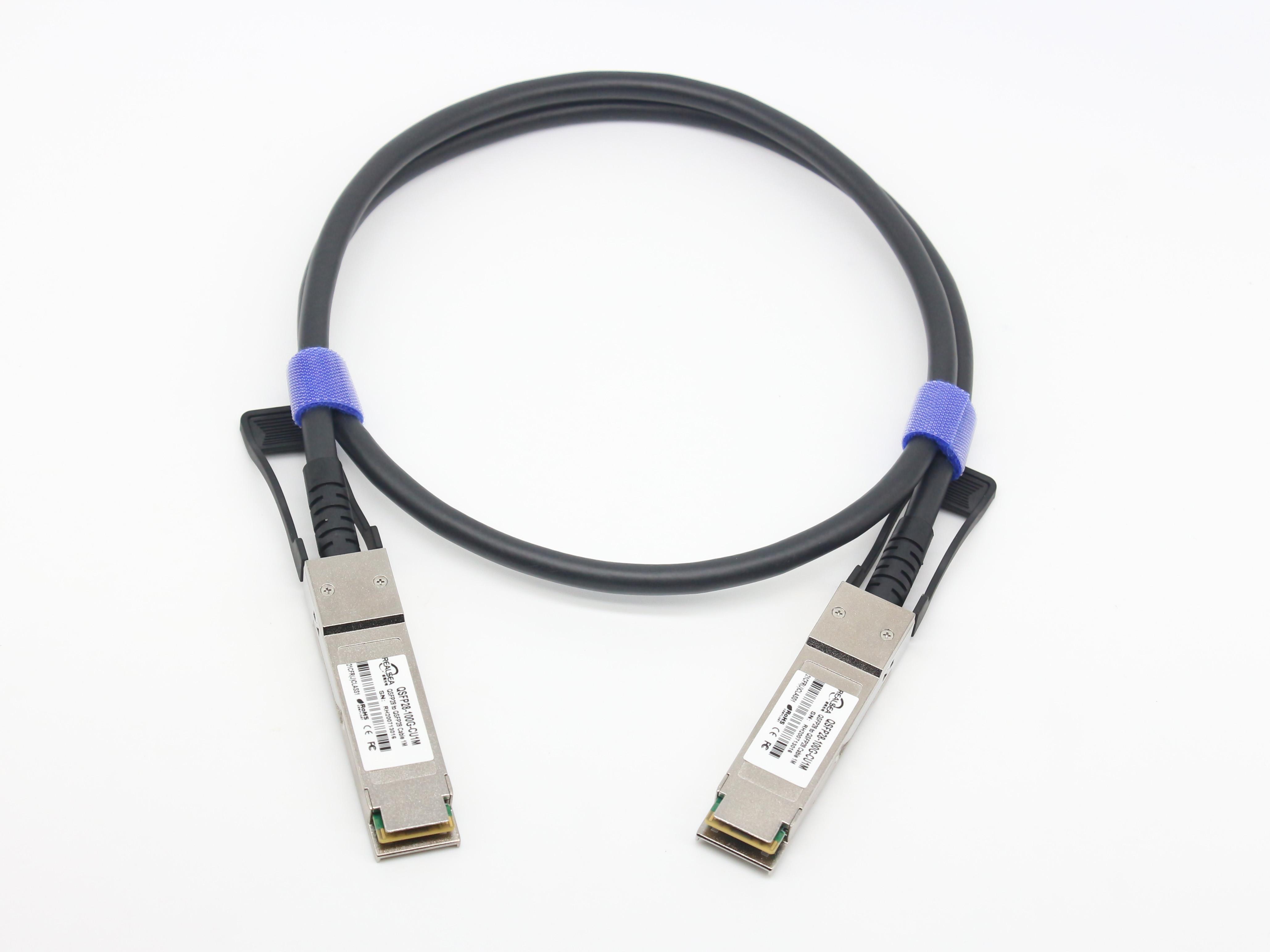 100G QSFP28 高速线缆