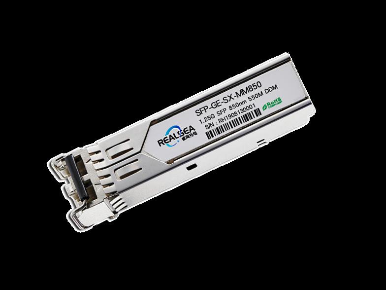千兆光模块-SFP-1.25G多模550米双LC接口带DDM SF-SX-MM850
