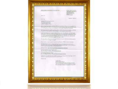 睿海光电-FDA认证证书
