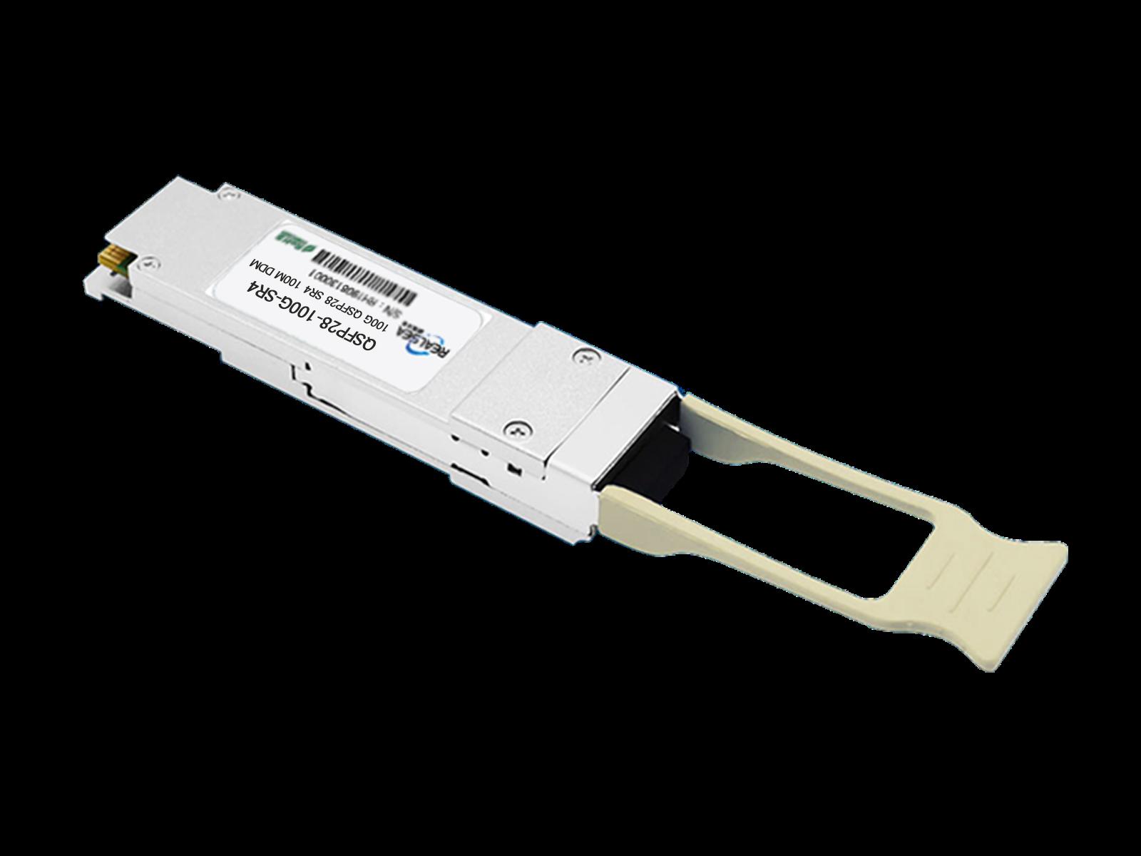 40G光模块QSFP+多模双芯150M双LC接口850nm带DDM QSFP-40G-SR4