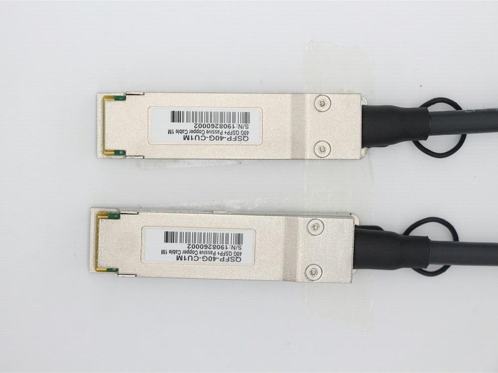 QSFP-40G-CU3M 惠普HP兼容 QSFP+ TO QSFP+DAC无源铜缆高速线缆