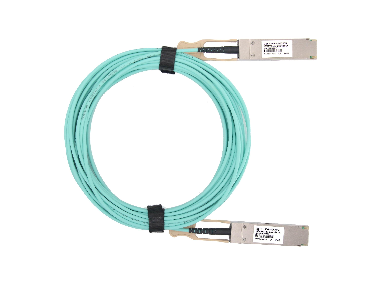 戴尔(Dell)兼容AOC-QSFP28-100G QSFP28 转 QSFP28 有源光缆堆叠线