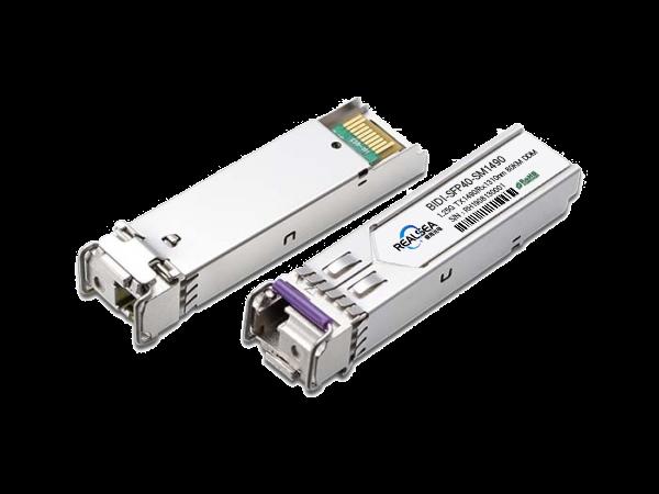 BIDI光模块-SFP-1.25G-40KM单模1310nm单LC接口带DDM BIDI-SFP-40KM-D