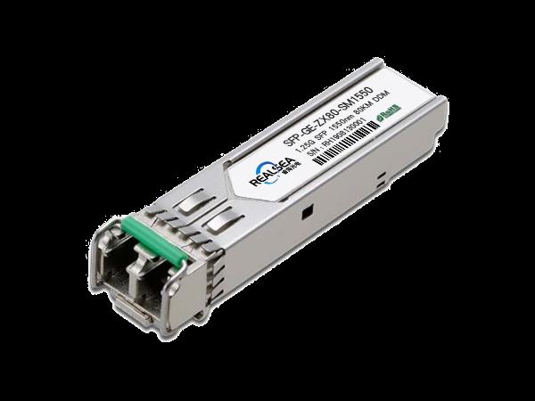 千兆光模块-SFP-1.25G-80KM单模1550nm双LC接口带DDM SFP-ZX80-SM1550