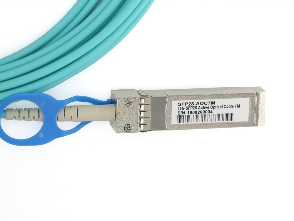 SFP28-25G-AOC1M 华为HUAWEI兼容SFP28 TO SFP28 AOC有源光缆电缆